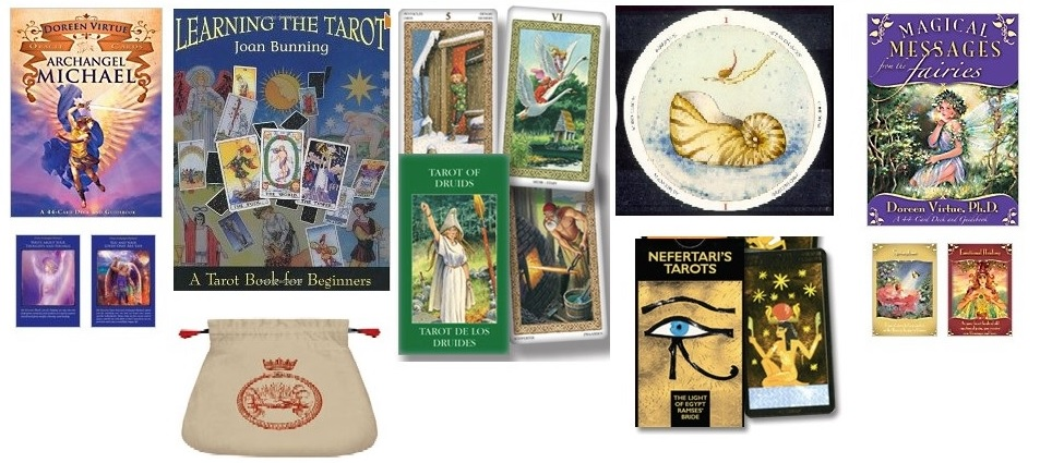 Tarot Cards, Oracle Cards, Tarot Card Bags, Boards, Books Tarot Card