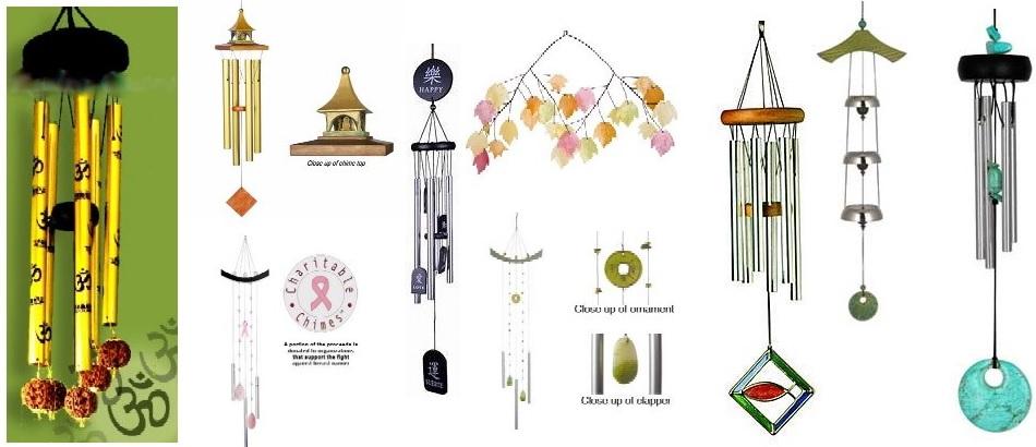 Glass Wind Chime Japenese Style Wind Bell House Corner Window Hanging Decor